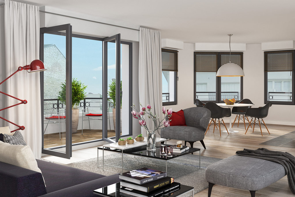 programme immobilier neuf sequence bois colombes appartement. Black Bedroom Furniture Sets. Home Design Ideas
