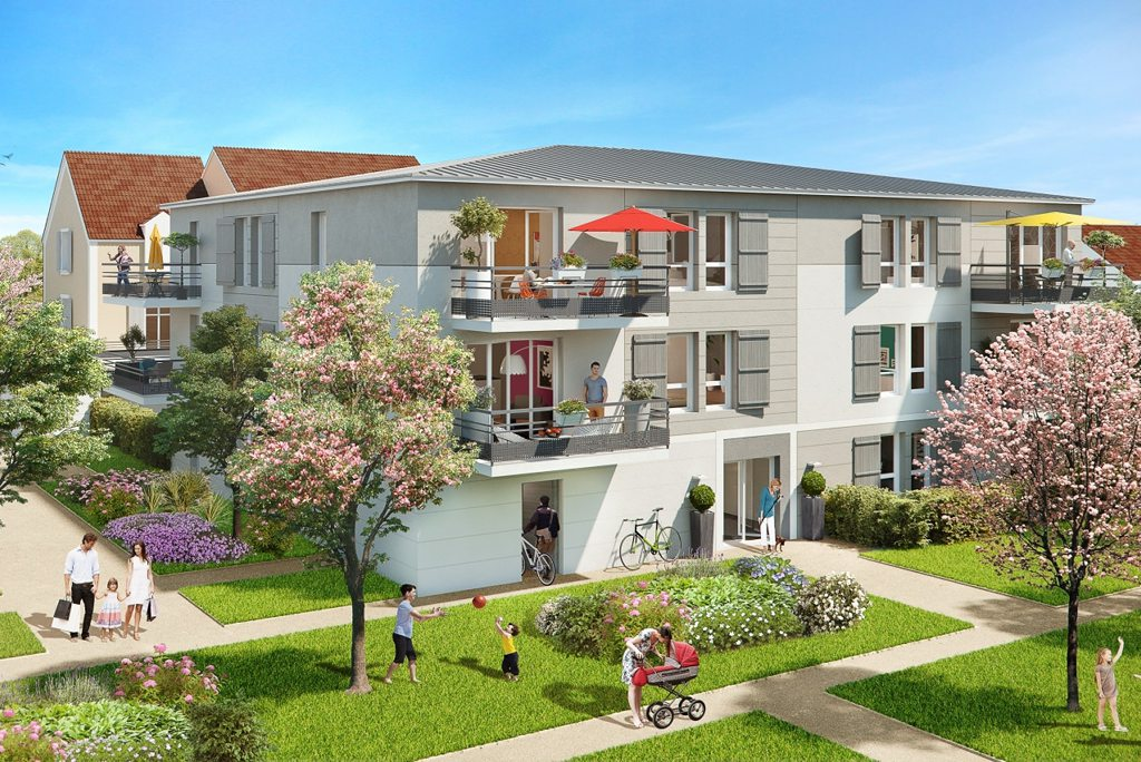Programme immobilier neuf appartement st soupplets for Immobilier neuf deja construit