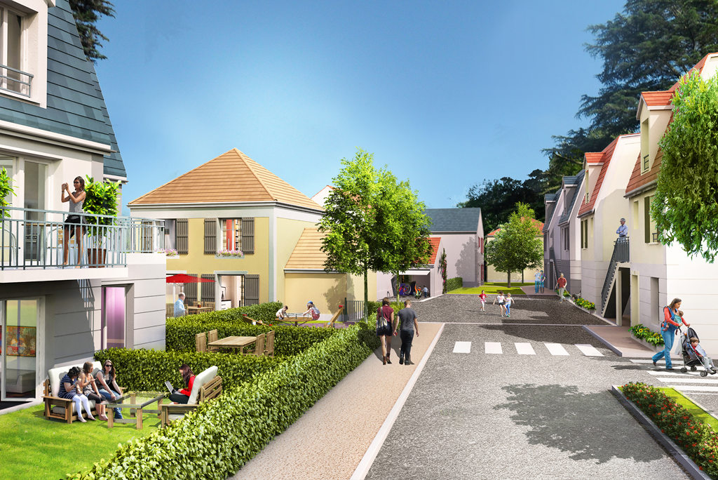 Programme immobilier neuf les jardins de saclay saclay for Votre agence ballainvilliers