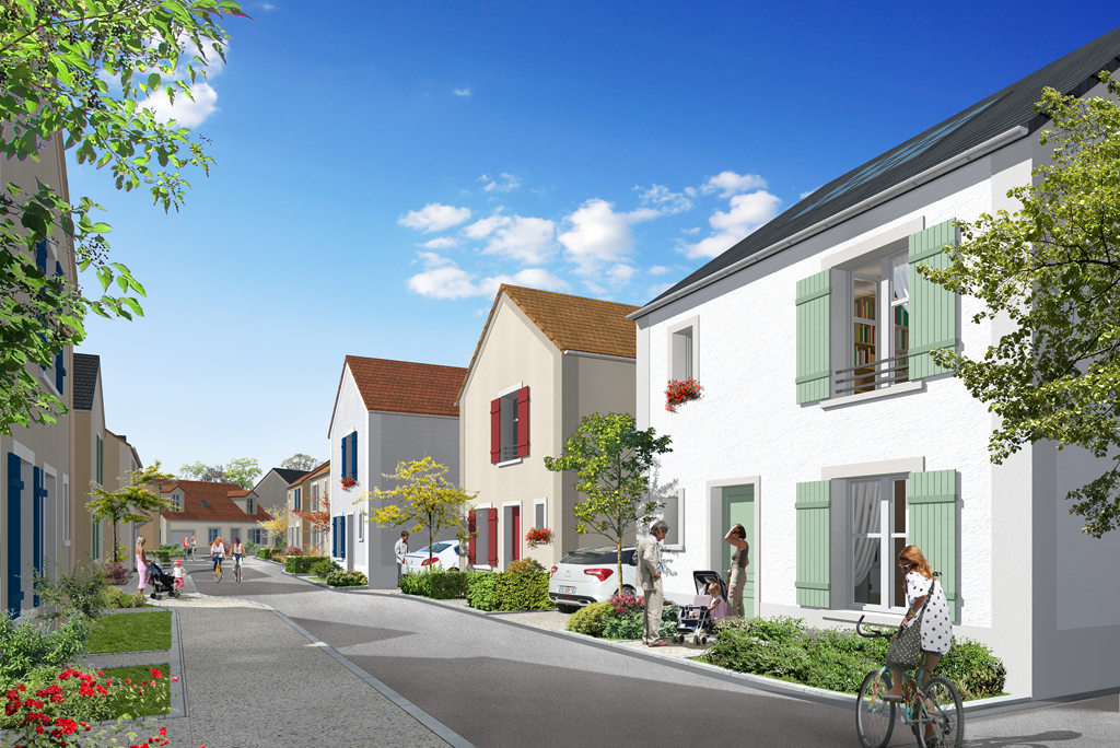 Programme immobilier neuf appartement thiverval for Programme de logement neuf
