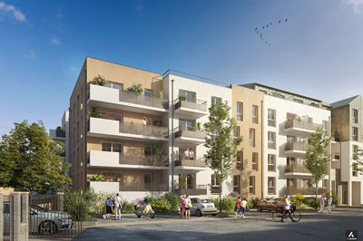 Programme immobilier neuf de 1 à 3 pièces Meaux