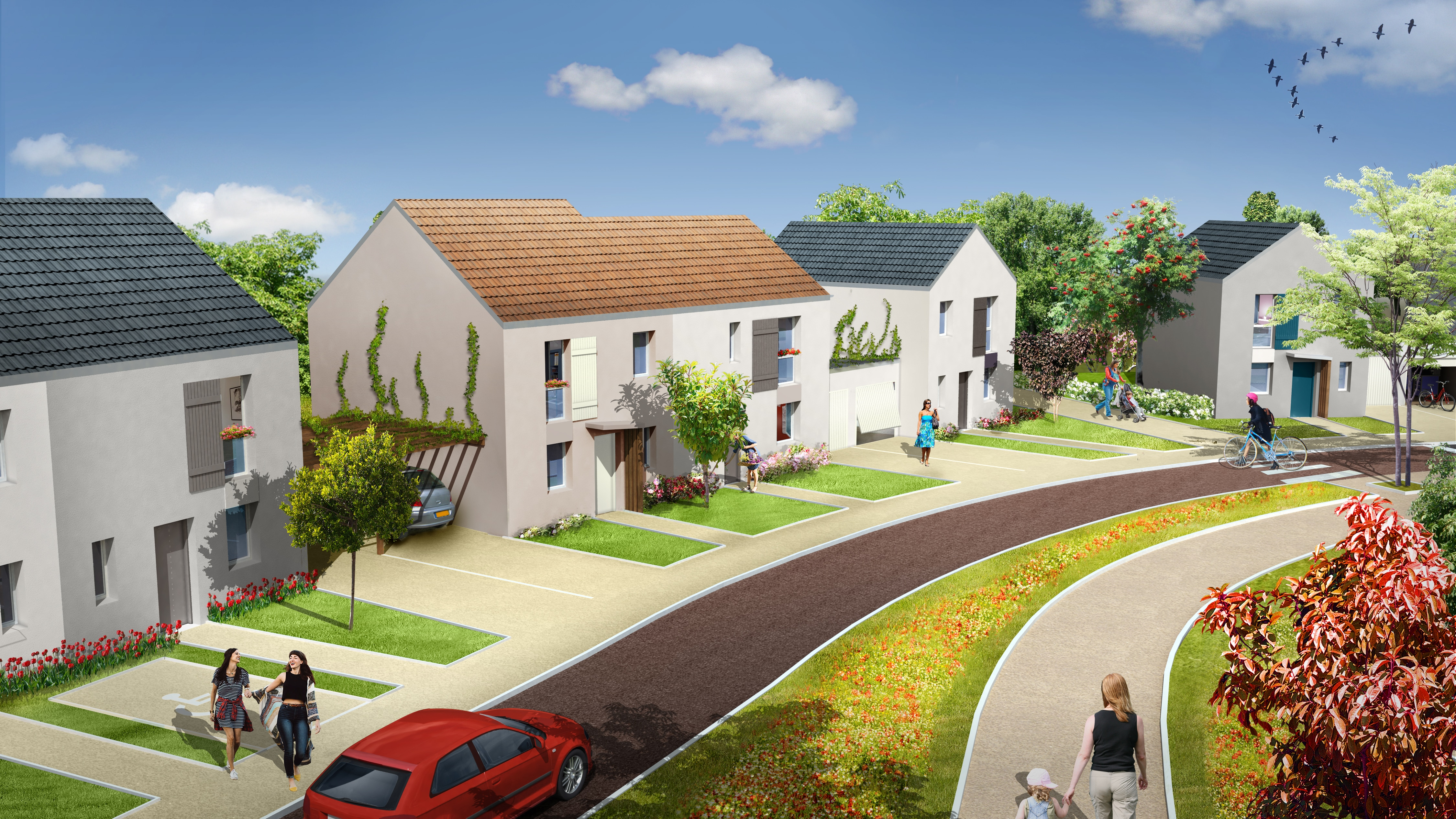 Programme immobilier neuf MELUN Melun | Photo 1/3