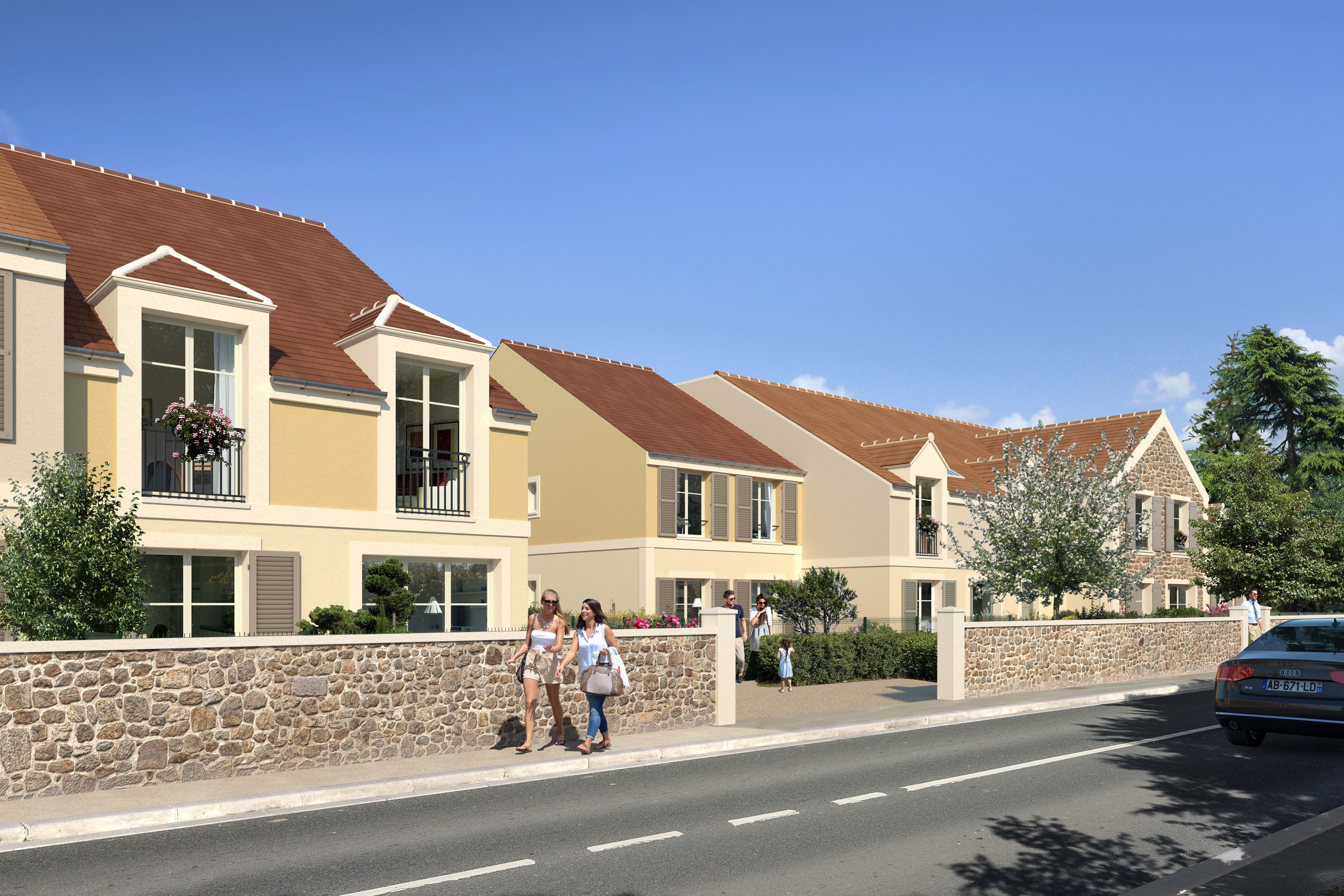 COTTAGES Magny les hameaux | Photo 1/2