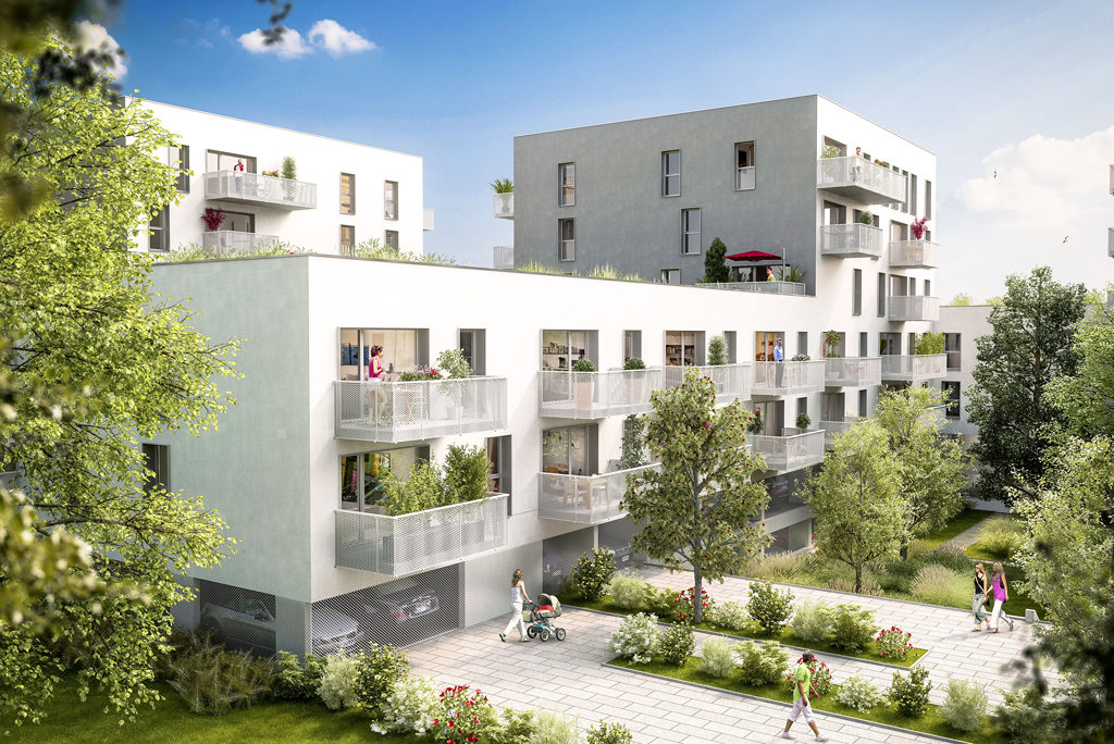 Programme immobilier neuf appartement lille for Programme logement