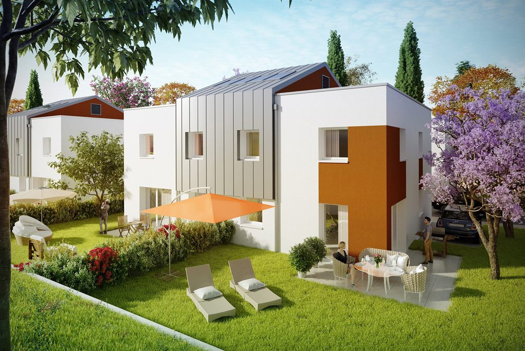 Programme immobilier neuf appartement thonon les bains for Appartement atypique thonon les bains