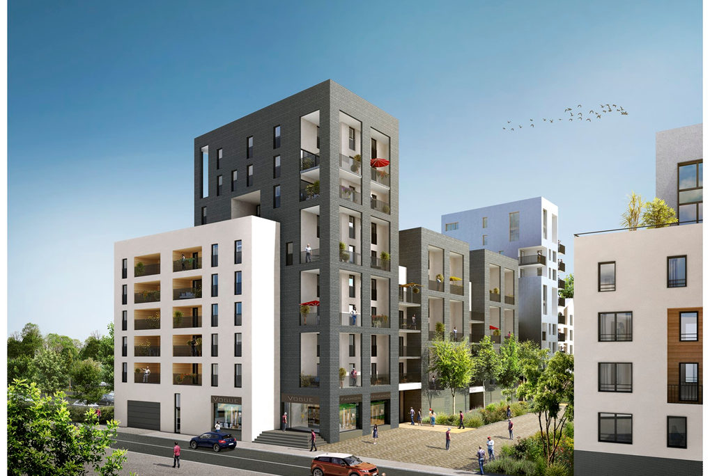Programme immobilier neuf appartement bordeaux - Maison bassin a flot bordeaux perpignan ...