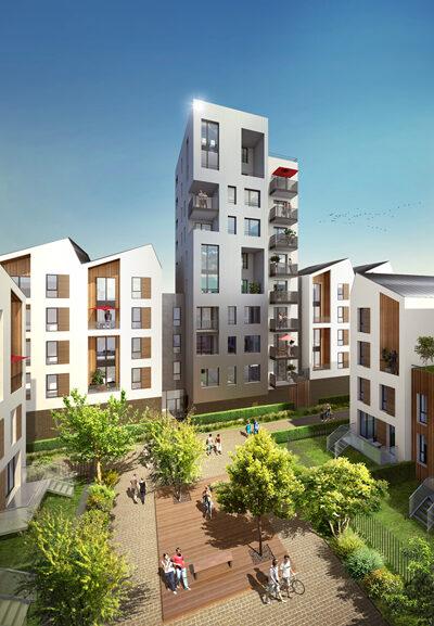 Programme immobilier neuf de 2 à 4 pièces Bordeaux