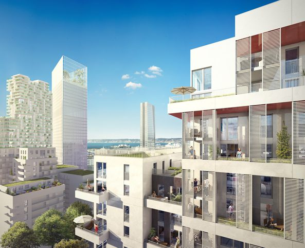 Programme immobilier neuf appartement marseille 3 m im nexity - Place de port disponible mediterranee ...