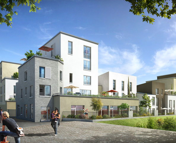 Programme immobilier neuf appartement stains parc for Immobilier neuf deja construit