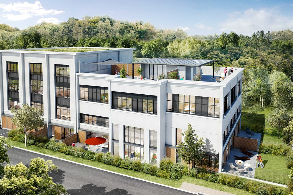 Programme immobilier neuf appartement stains parc for Programme logement