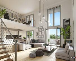 Programme immobilier neuf de 3 à 4 pièces Cergy