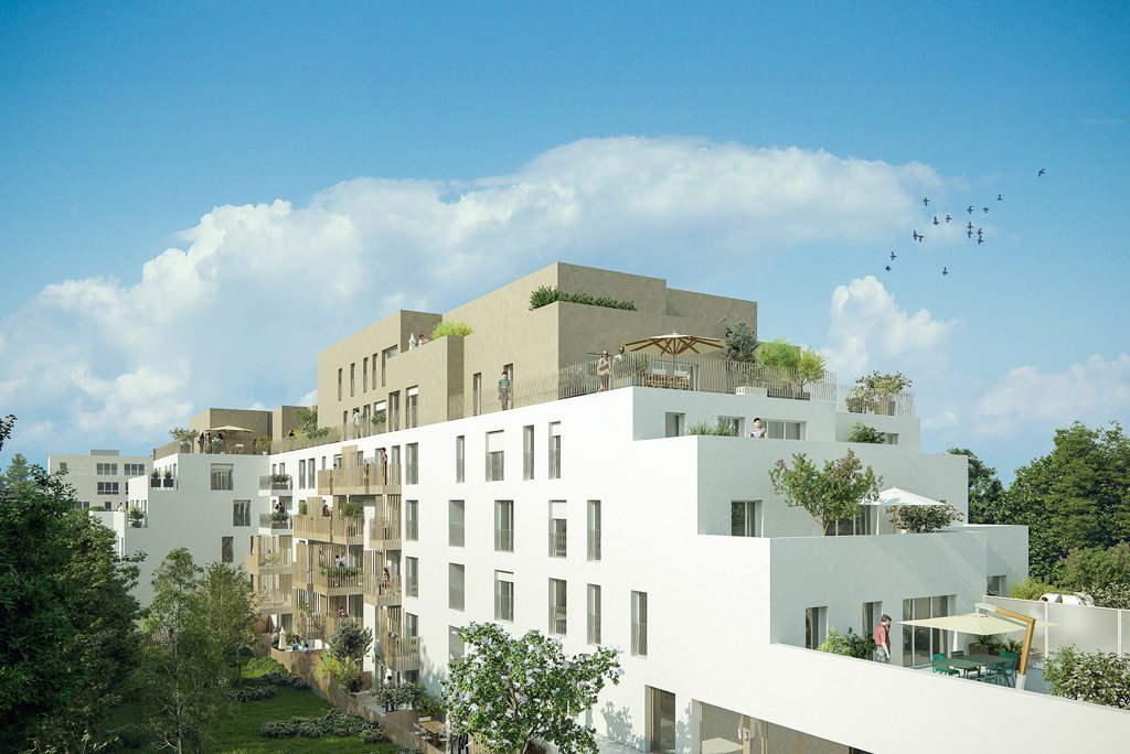 Programme immobilier neuf appartement romainville for Programme logement