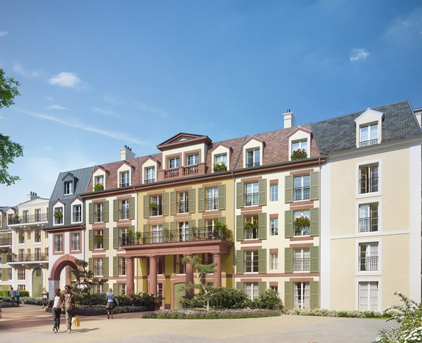 Programme immobilier neuf appartement villiers sur for Appartement atypique val de marne