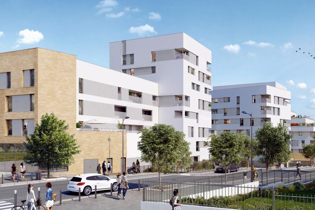 Programme immobilier neuf appartement noisy le grand for Immeuble camembert noisy le grand