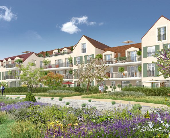 Programme Immobilier Neuf Appartement St Prix Carre