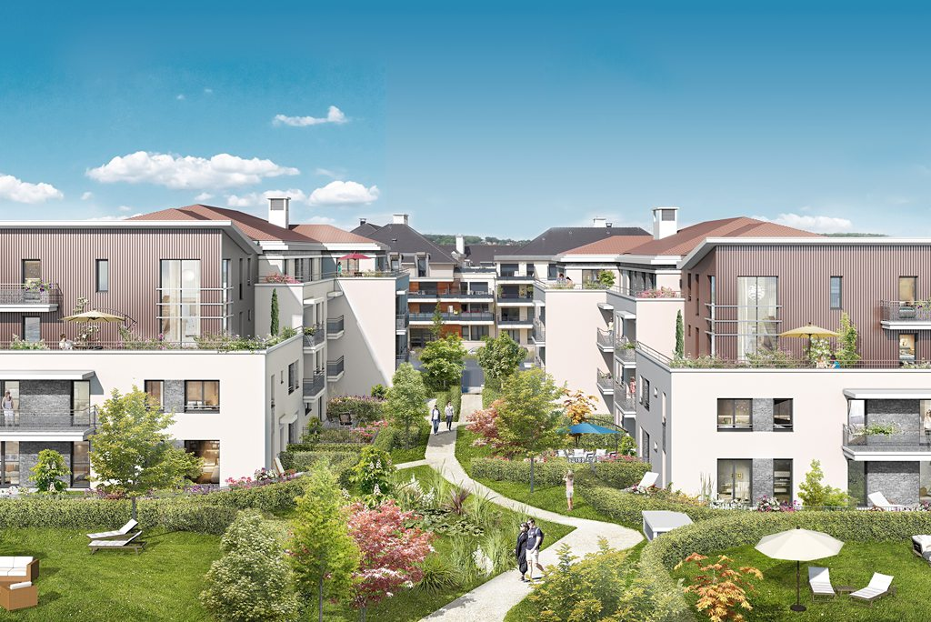 Programme immobilier neuf appartement cormeilles en parisis artistik - Programme neuf cormeilles en parisis ...