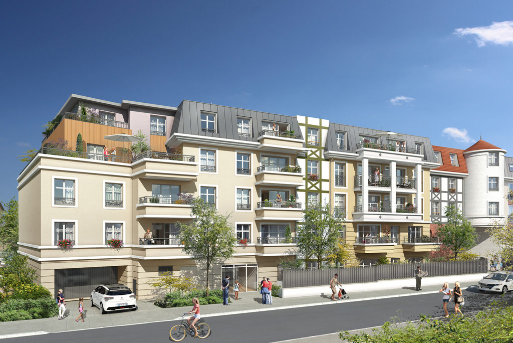 Programme immobilier neuf appartement franconville for Programme appartement