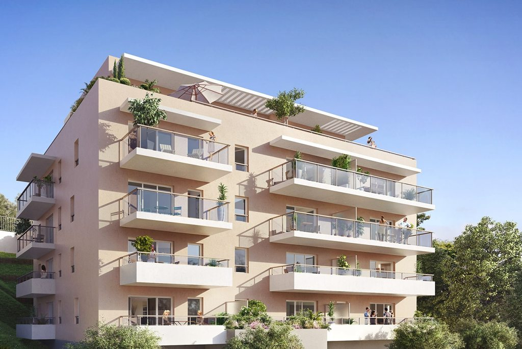 Programme immobilier neuf appartement nice azur for Programme appartement