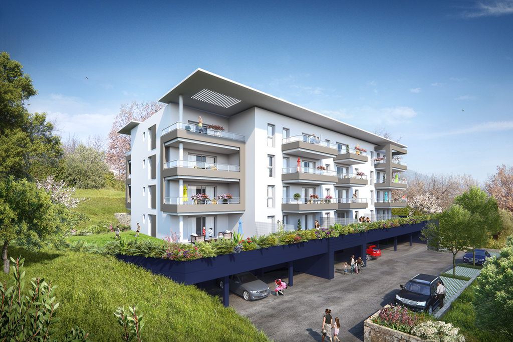 Programme immobilier neuf appartement la gaude for Immobilier neuf deja construit