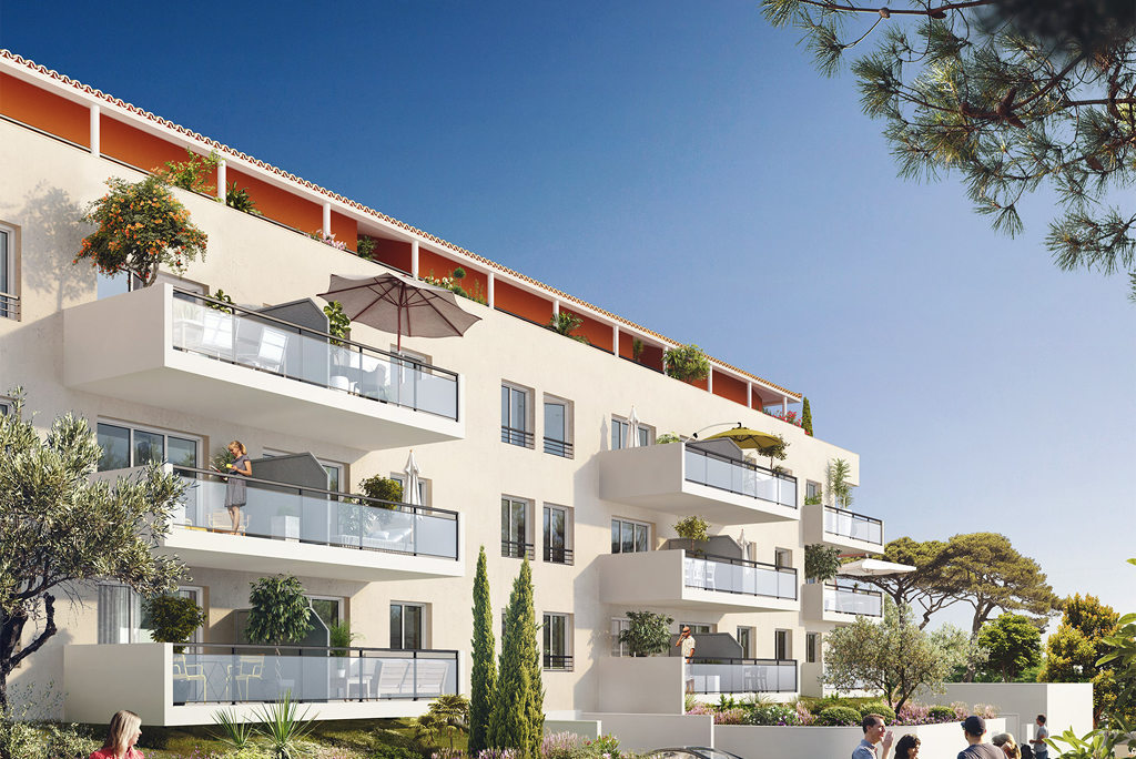 Programme immobilier neuf appartement draguignan d for Au bureau draguignan