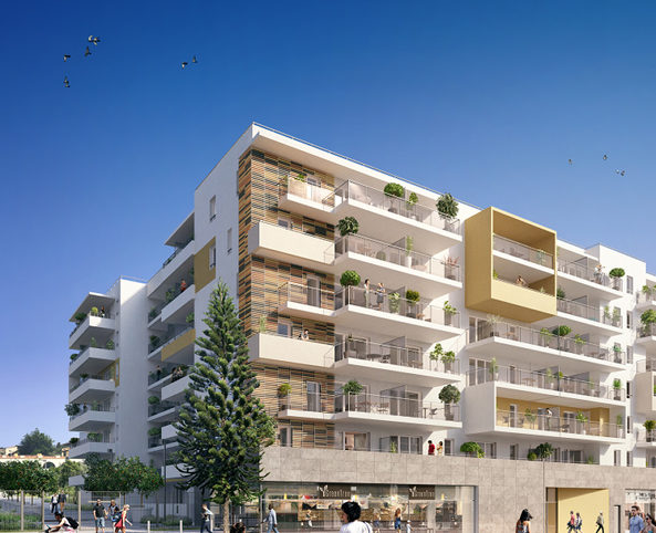 Programme immobilier neuf appartement nice l 39 apart nexity - Aparte immobilier nice ...