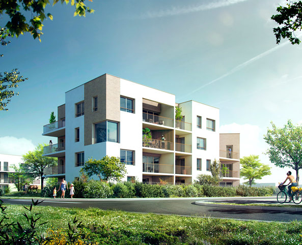 Programme immobilier neuf nest st priest appartement for Immobilier neuf deja construit