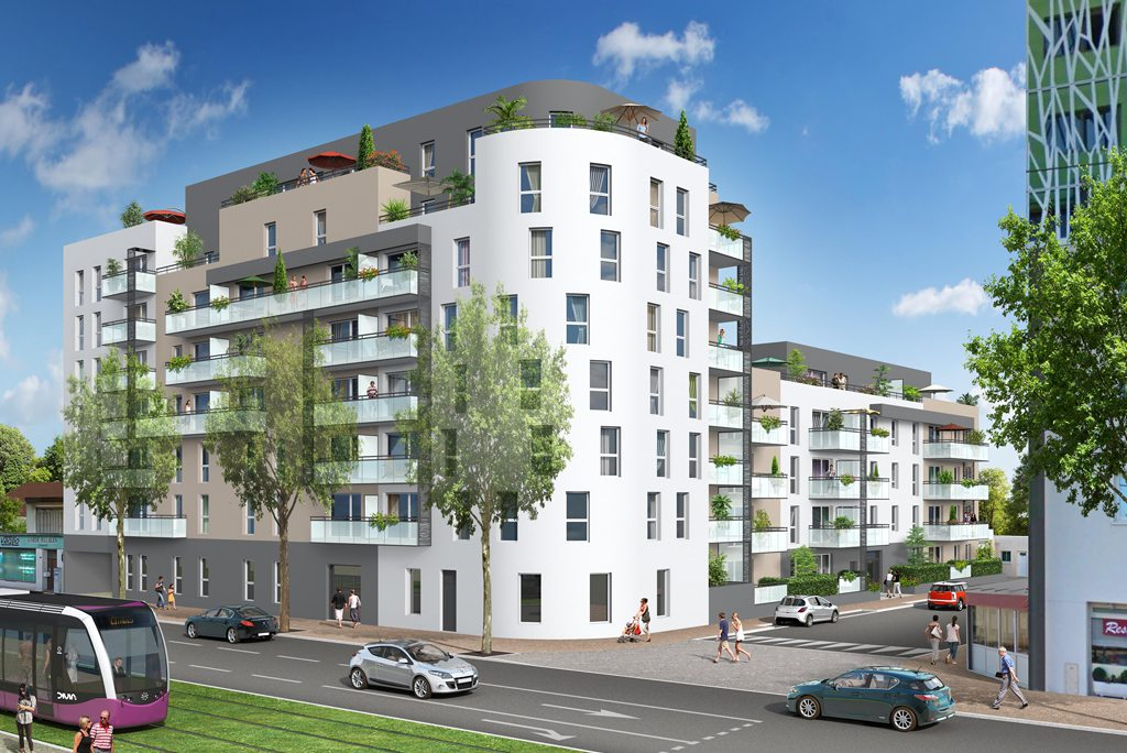 Programme immobilier neuf appartement dijon acapella for Programme appartement