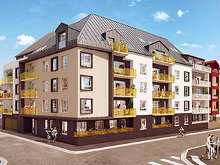 Programme immobilier neuf appartement rouen lumi 39 r for Programme immobilier rouen