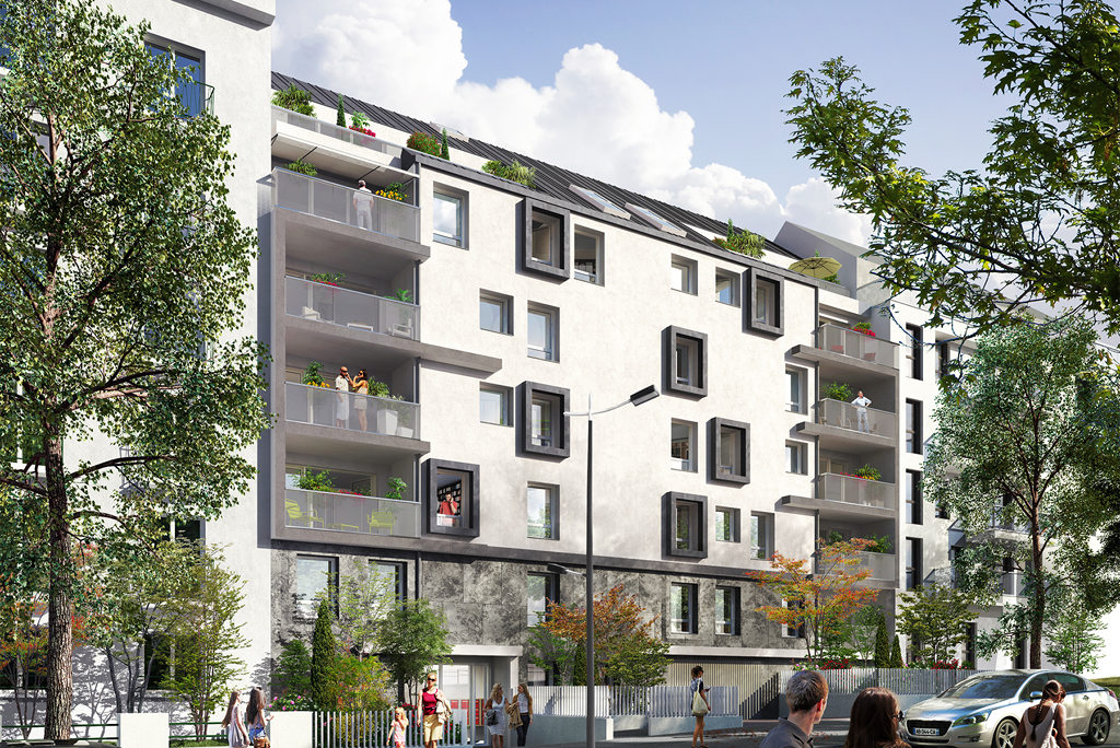 Programme immobilier neuf jardin anglais nantes appartement for Jardin immobilier