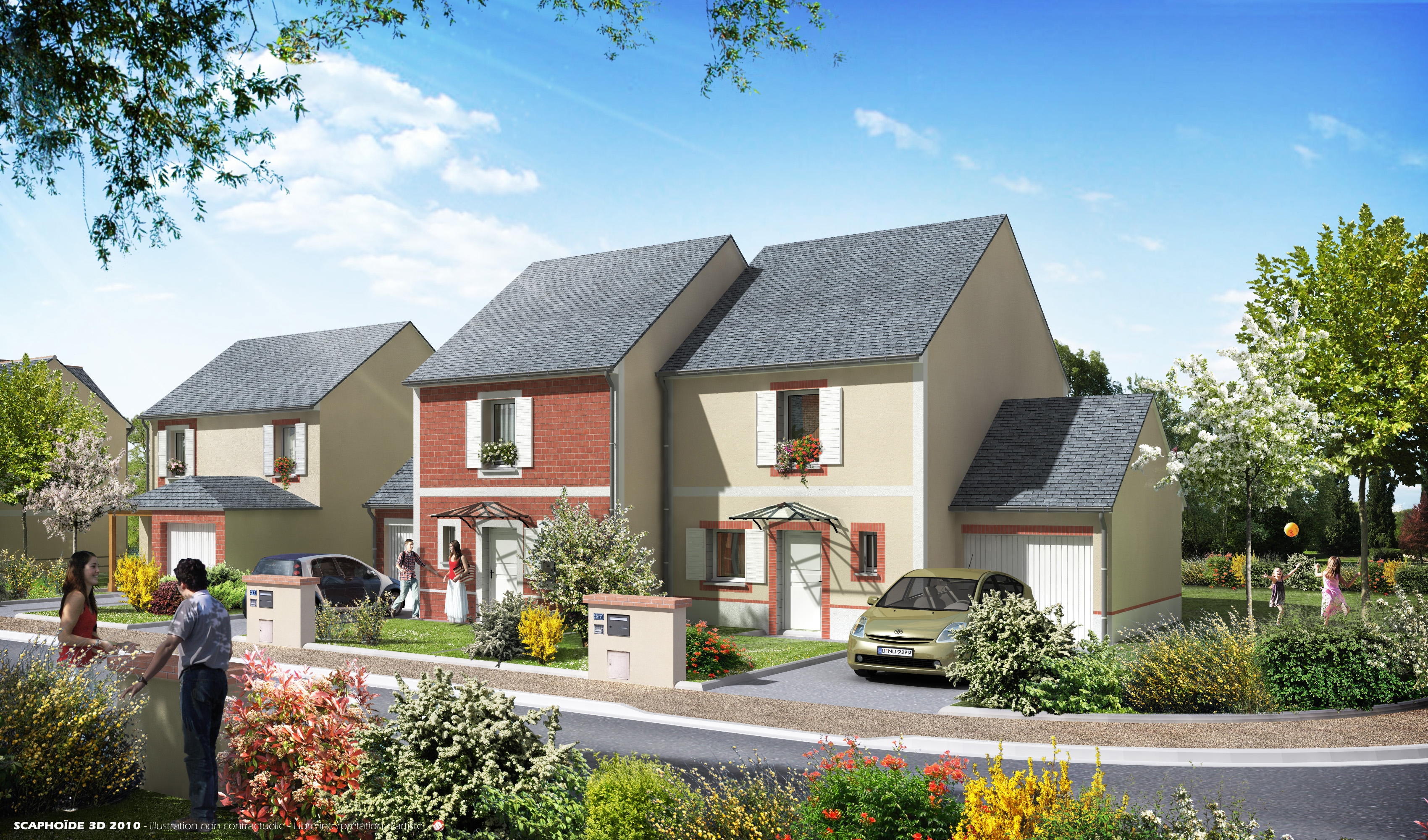 Simple programme immobilier with maison neuve orleans for Programme immobilier neuf region parisienne