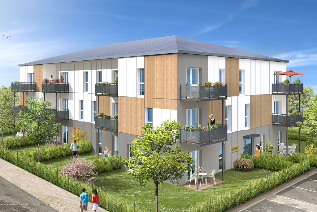 Programme immobilier neuf appartement ingre le woody for Programme logement