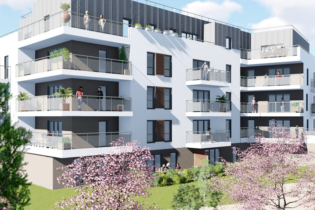 programme immobilier neuf appartement orleans 112 faubourg orleans nexity. Black Bedroom Furniture Sets. Home Design Ideas