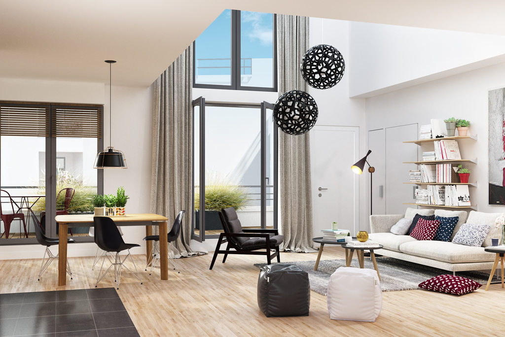 Programme immobilier neuf appartement bois colombes for Acheter appart