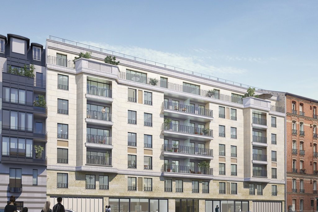 Programme immobilier neuf : Appartement à Clichy - Carre clichy | Nexity