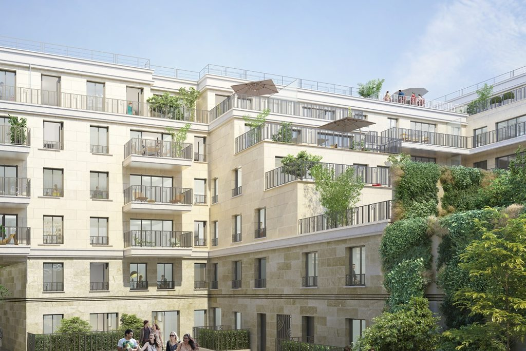 Programme immobilier neuf appartement clichy carre for Programme logement